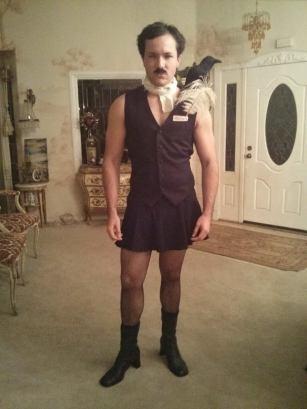 edgar allan ho, halloween costume pun